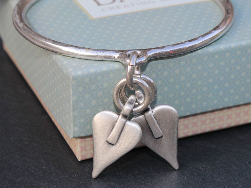 Danon-Two-Hearts-Braclet