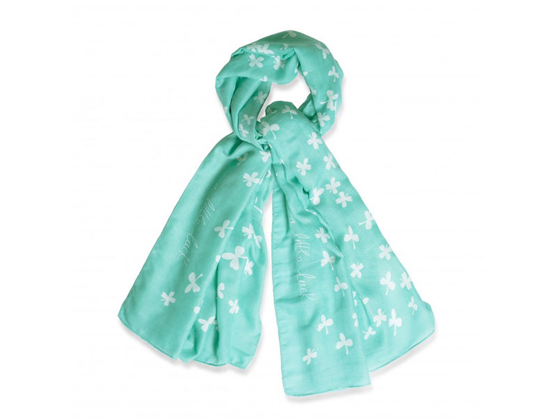 Katie-Loxton-Green-Scarf